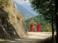 Buddhist monks McLeod Ganj